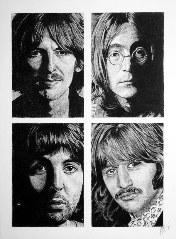 The Beatles by ARitz